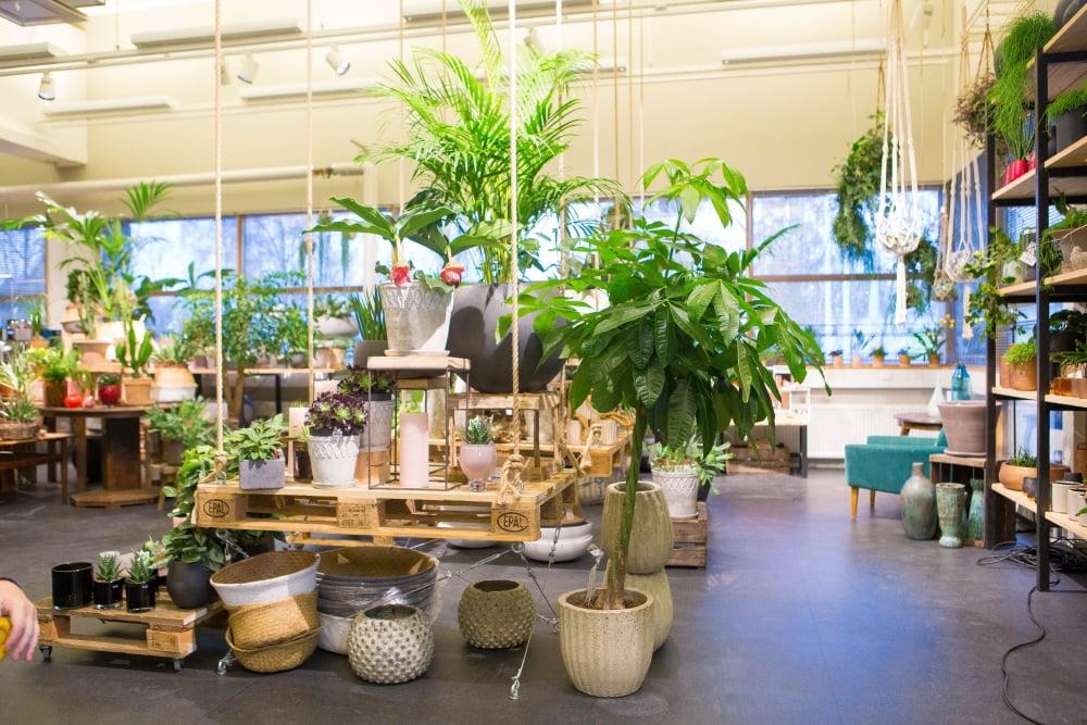 Garden Living myymälä