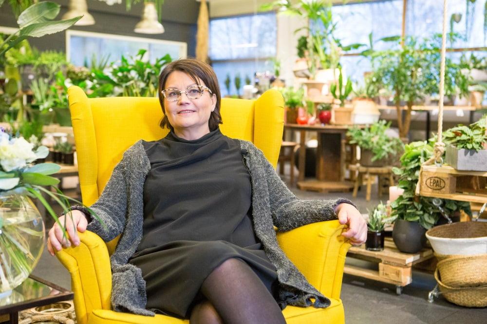 """Kirsti Pentti, GardenLiving: """"Kassajärjestelmä on erittäin helppokäyttöinen ja nopea"""""""