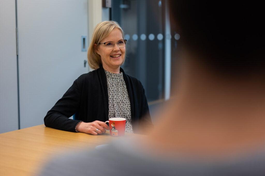 Projektipäällikkö Heidi Mäntylä
