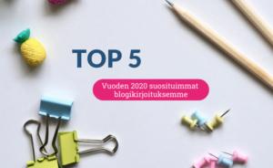 Vuoden 2020 suosituimmat blogikirjoitukset