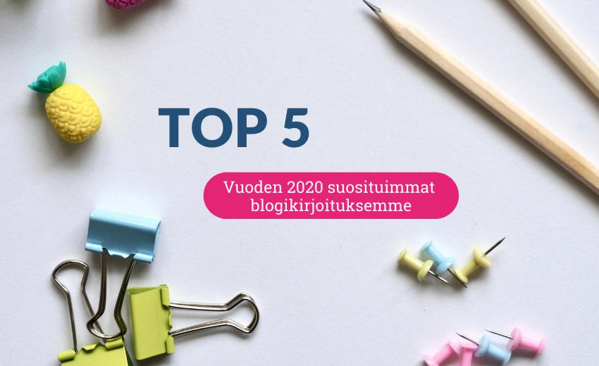 Vuoden 2020 suosituimmat blogikirjoituksemme