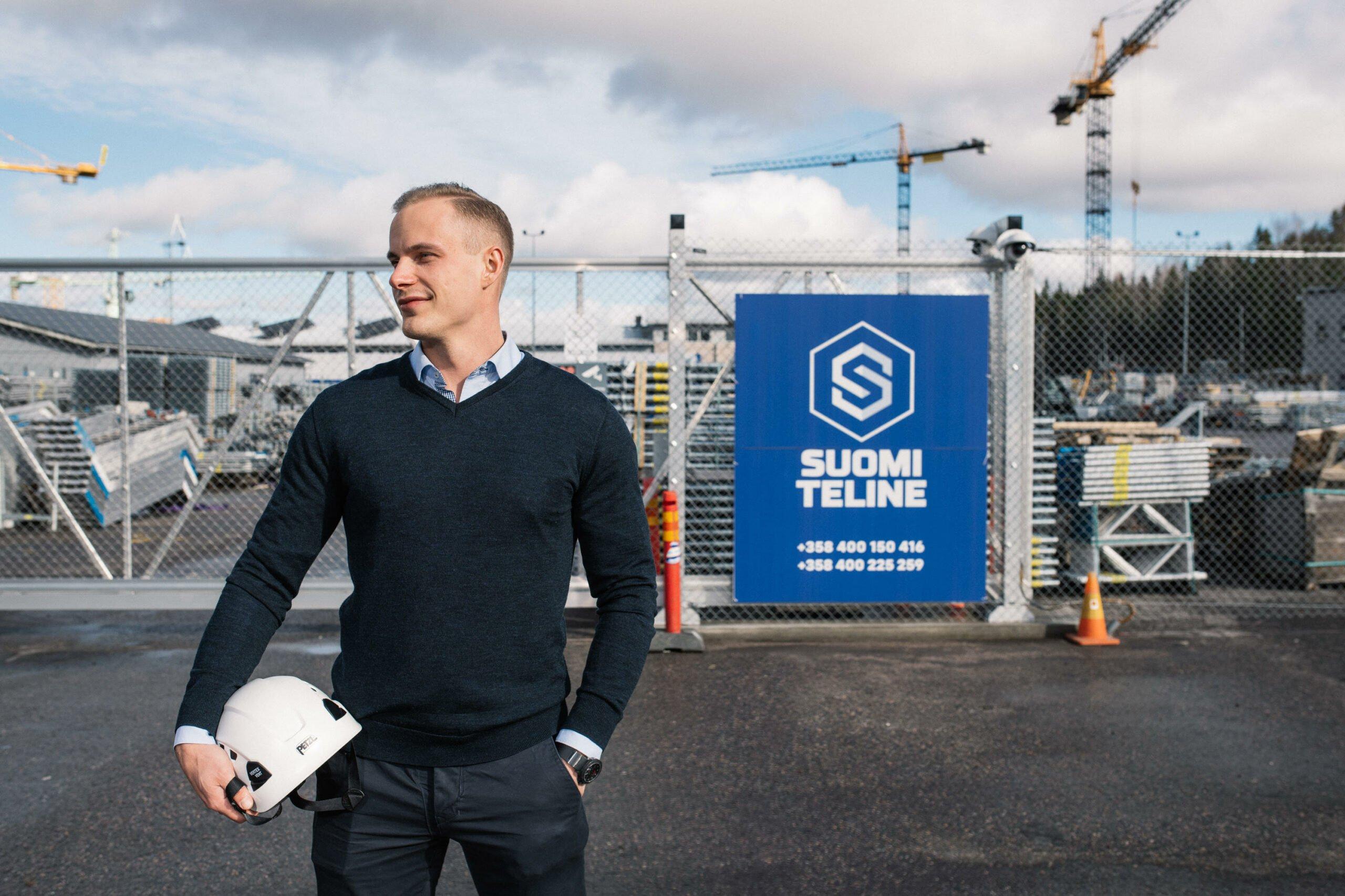 """""""Tehden ohjaa hyvin käyttäjäänsä"""" – Suomi Teline valitsi Tehdenin toiminnanohjausjärjestelmäkseen"""