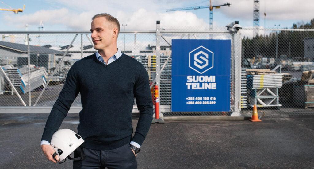 Suomi Telineen Jere Sieppo suosittelee Tehdeniä.