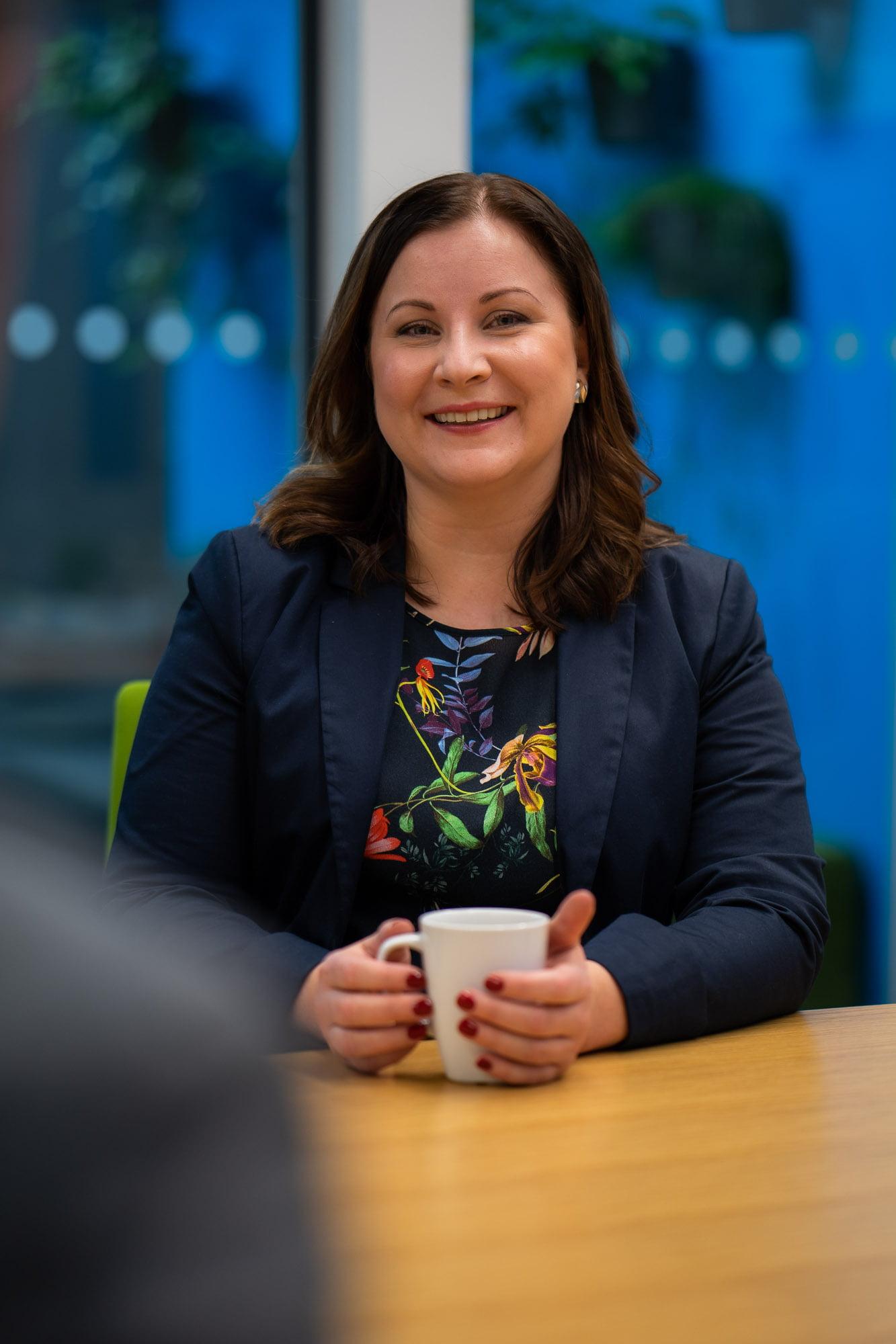 Tehden Oy:n Liiketoimintajohtaja Tanja Uotila