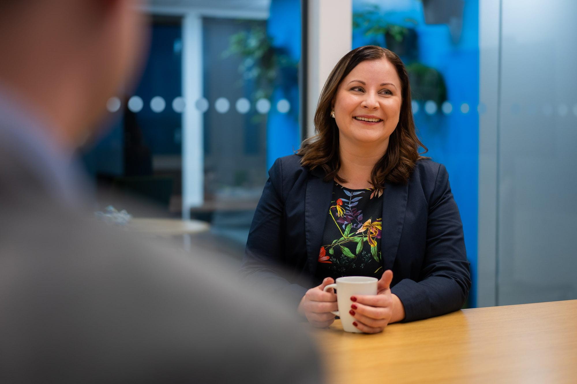 """Tanja Uotila liiketoimintajohtajaksi: """"Tavoitteena kasvaa yhteistyössä asiakkaiden ja kumppanien kanssa"""""""